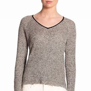Eileen Fisher wool/linen blend knit tunic